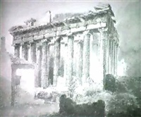 the west end of the parthenon by sir robert smirke