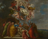 l'ascension de la vierge by theodor van thulden