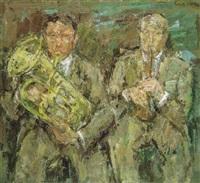 twee muzikanten by ernest albert