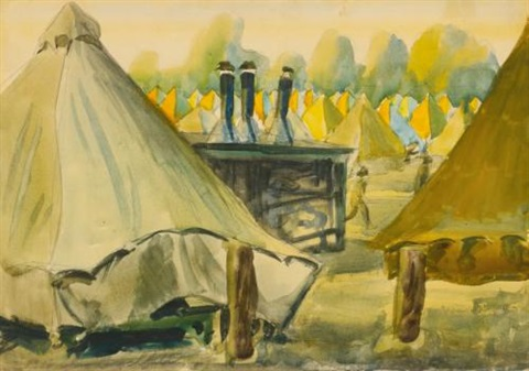 camp jackson south carolina by charles ephraim burchfield