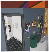 studio hallway by jonas wood