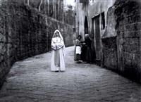 lillian gish während der filmaufnahmen zu: the white sister by james abbe