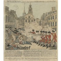 the bloody massacre, pl.14 (brigham) by paul revere