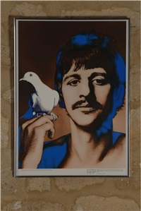 the beatles (set of 4 posters) by richard avedon
