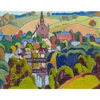 quebec village by randolph stanley hewton