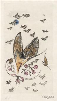 les chauves souris by toyen (maria cerminova)