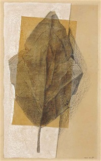 la feuille by max ernst