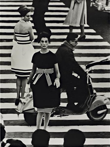 simone and nina piazza di spagna rome vogue by william klein