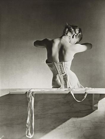 mainbocher corset, paris by horst p. horst