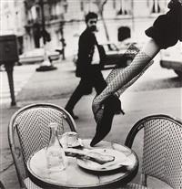 hand in shoe, paris, by helmut newton
