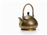 electric tea kettle by peter behrens
