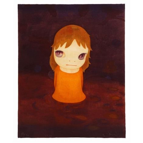 after the acid rain night version by yoshitomo nara