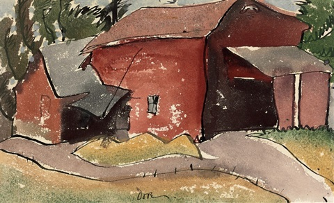 slaughter house by arthur dove