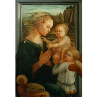 madonna and child with an angel by filippo (filippino) lippi