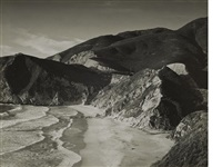 beach, matchstick cove, california by minor white