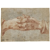 clasped hands (study) by andrea boscoli