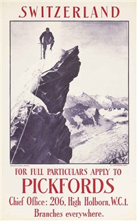 switzerland, apply to pickfords by jean gaberell