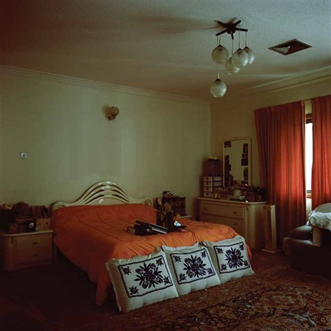 the orange room from the series presence by lamya gargash