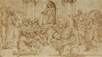 jésus christ parmi les docteurs by ercole setti