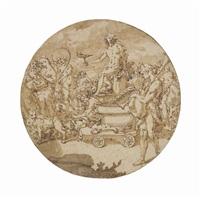 the triumphal procession of bacchus by andrea boscoli