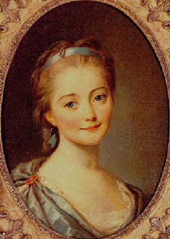 portrait of a young girl by marianne loir