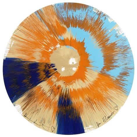 beautiful spin for eleanor by damien hirst