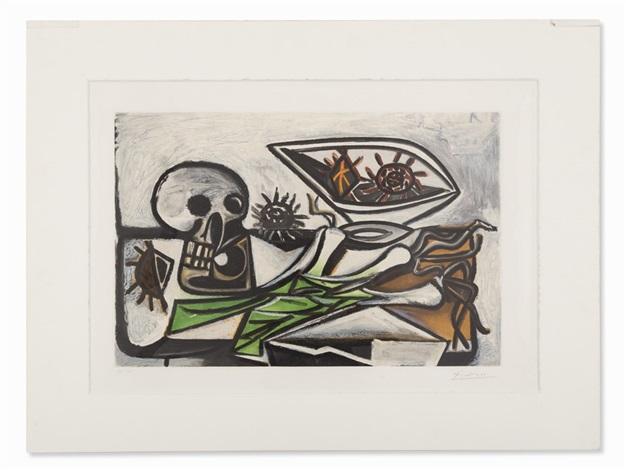 Nature morte au crâne par Pablo Picasso sur artnet