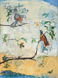 bird life by yvonne audette