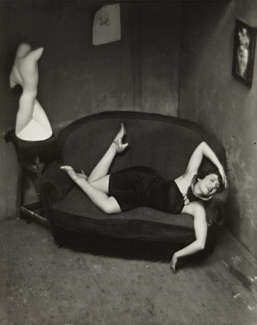 satiric dancer, paris by andré kertész