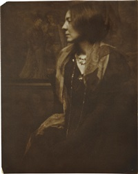 portrait of a lady by gertrude kasebier