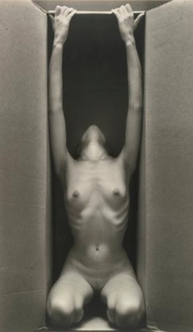 in box vertical by ruth bernhard