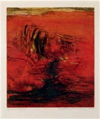 sans titre (agerup 161) by zao wou-ki