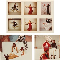 selected fashion studies (3 works) by guy bourdin