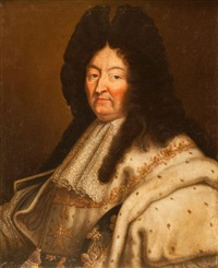 portrait du roi louis xiv by hyacinthe rigaud