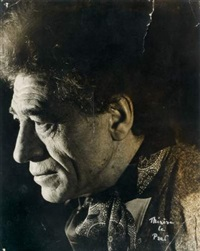 portrait d'alberto giacometti by therese le prat