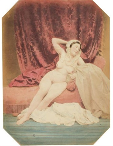 étude de nu study by joseph auguste belloc