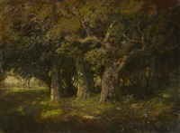 study of oaks by william keith