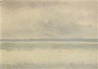 vue du bassin d'arcachon by charles lacoste