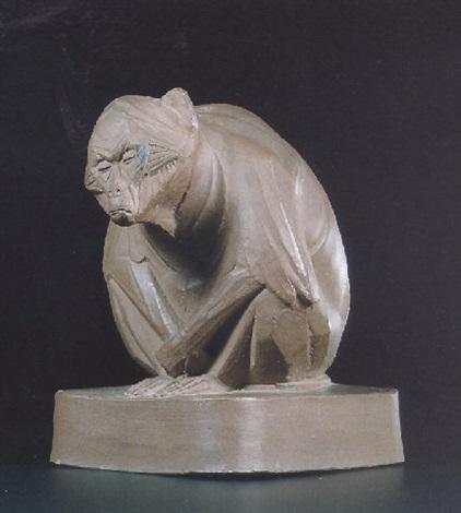 a monkey by johan coenraad altorf