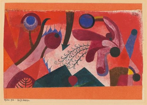 giftbeeren poisonous berries by paul klee