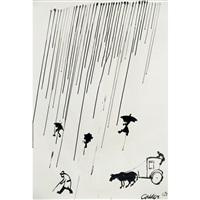 a rainy day by alexander calder