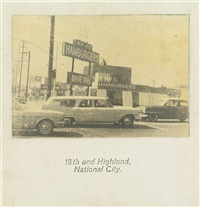 18th and highland, national city by john baldessari