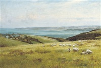 a view to the sea by edward wilkins waite