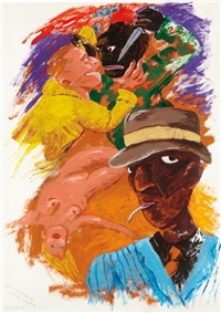 detectives report: unsolved mystery by robert h. colescott