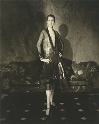 cheruit gown (marion morehouse) (mrs. e.e. cummings) by edward steichen