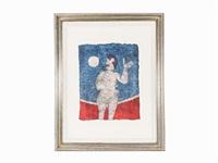la luna llena by rufino tamayo