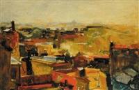 paesaggio di roma by ugo attardi