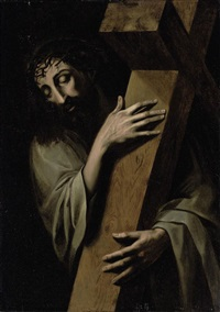 christ carrying the cross by michiel coxie the elder