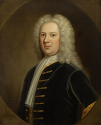 portrait of john stirling (1677-1736), provost of glasgow by william aikman