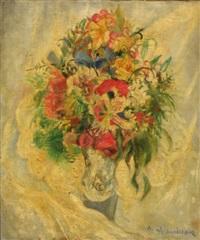 bouquet de fleurs by nina homolacs aleksandrowicz